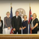 City Officials with Mayor Patti Denison